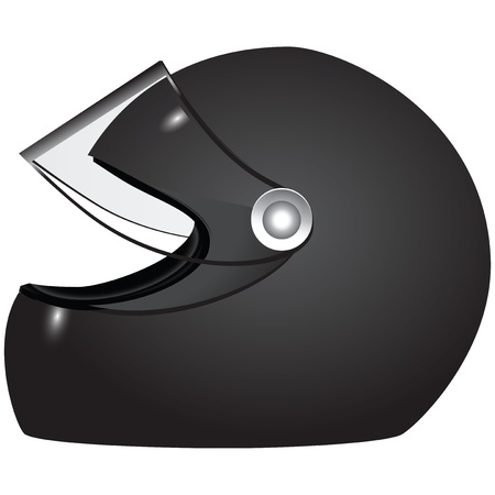 Racer helmet - accessory athlete uniforms.