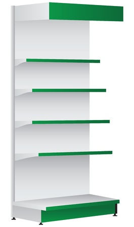 flange: Shelf for commercial trade organizations and warehouses.
