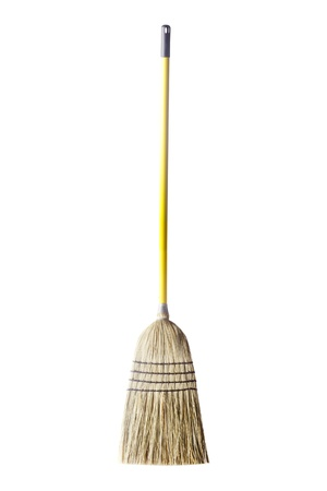 besom: Household broom for cleaning of industrial premises and apartments.