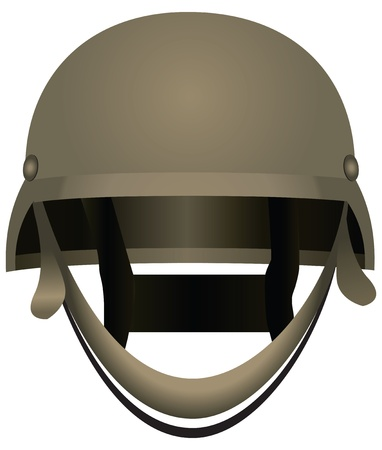 Modern combat helmets. Military equipment. Stock Vector - 16853965