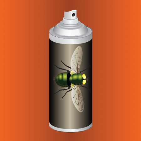 pulverizer: Spray to kill flies and other insects.