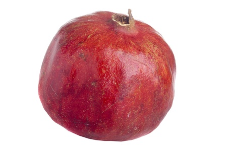 Pomegranate fruit of a food and has beneficial properties. Фото со стока