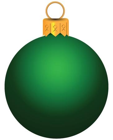 Winter holiday illustration of Christmas balls Stock Vector - 17315454
