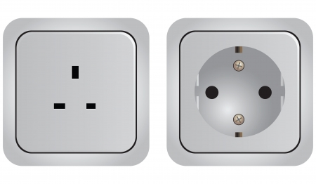 Set of of sockets with different modifications.