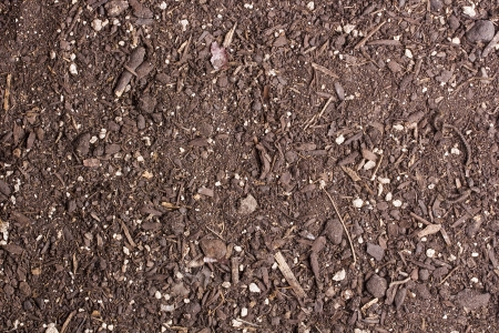 Option soil for planting at home. Background. Stock Photo - 18280420
