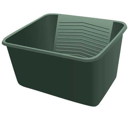 Plastic container for cleaning and washing.