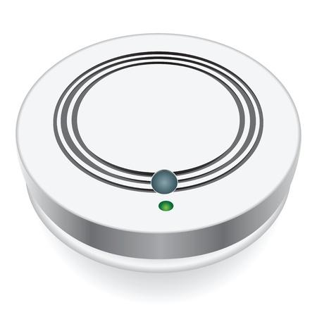 sensores: Sistema de control de humo en las zonas industriales y residenciales