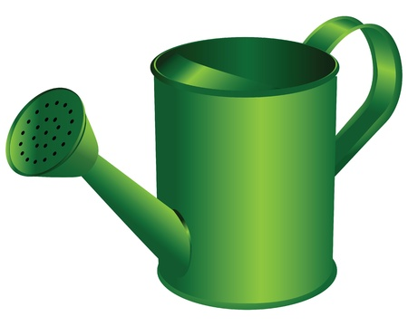 Watering can.Tool for manual operation room and household plants Stock Vector - 18847190