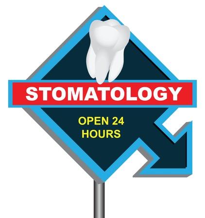 zeitarbeit: Banner stomatology mit Kurzarbeit.