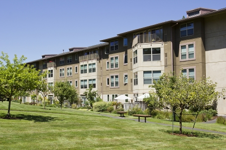 The residential complex is designed for rental.