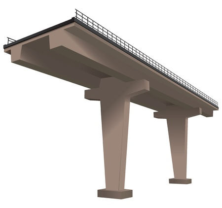 近代的な技術、高速道路のプロット。  イラスト・ベクター素材