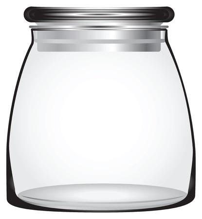 keeps:  Tight sealing glass lid keeps items fresh