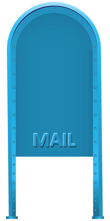 wehosting: Steel mailbox for correspondence sidebar.  Illustration