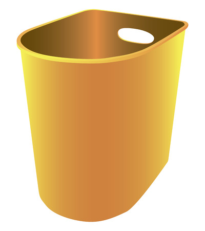 Plastic Trash in the office and home environment. Vector illustration. Stock Vector - 23843392