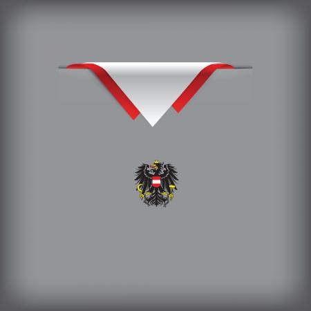 状態記号およびオーストリア ベクトル図の旗の色。