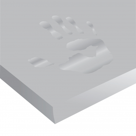 Therapeutic mattress with memory for orthopedic recommendations. Vector illustration.