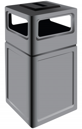 Trash to be installed in public places. Vector illustration. Stock Vector - 25509972