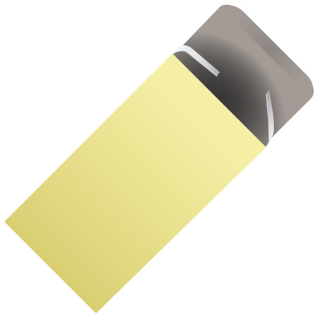 Packaging for tablets of cardboard. Vector illustration. Vector