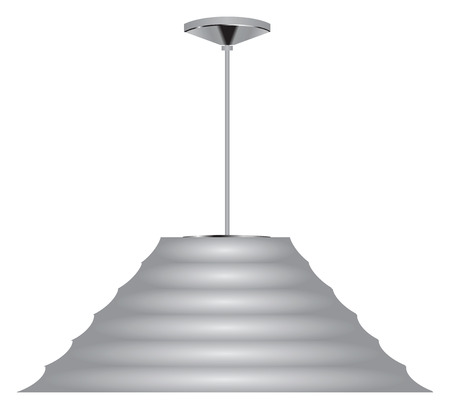 Cone ceiling lamp for home and office.
