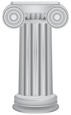 doric: Classical ancient columns - an architectural element.