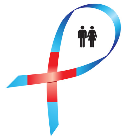 World Red Cross Day, ends ribbons intersect create cross. Vector illustration. Ilustração