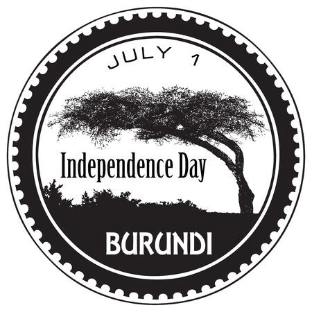 Burundi Independence Day July first.