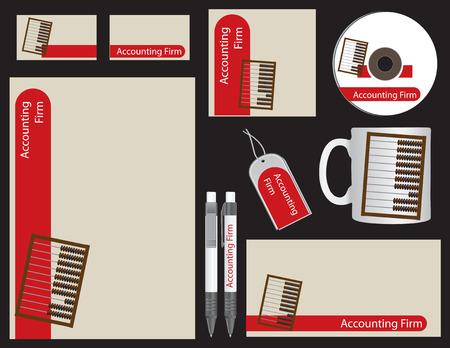 fermo: Corporate style societ� di revisione contabile per gli accessori per ufficio.
