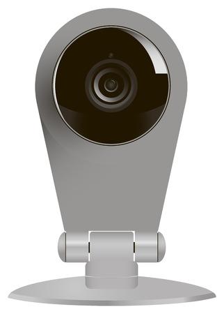 Wireless computer camera for video surveillance