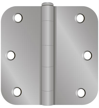 産業用ドア固定の古典的な形態。ベクトルの図。  イラスト・ベクター素材