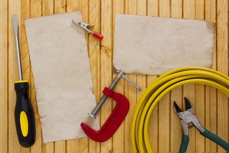 carry out: Set of tools and equipment to carry out electrical work.