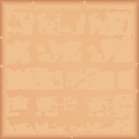 Image of an old brick wall as background. Vector illustration.