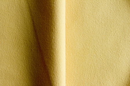 doubling: Fabric for technical works yellow industrial purposes.
