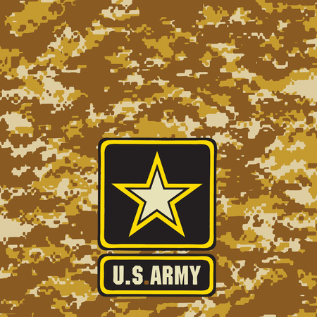 light brown: Light brown Army camouflage background for use in the field. Vector illustration.