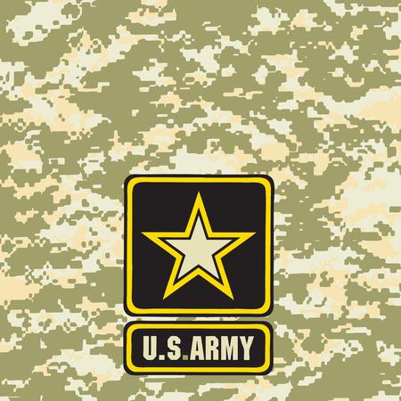필드에 사용하기 위해 빛 녹색 육군 위장 배경. 일러스트