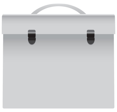 Universal bag for official papers. Vector illustration.