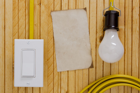 switches: Equipment and tools for installing electrical outlets and switches.