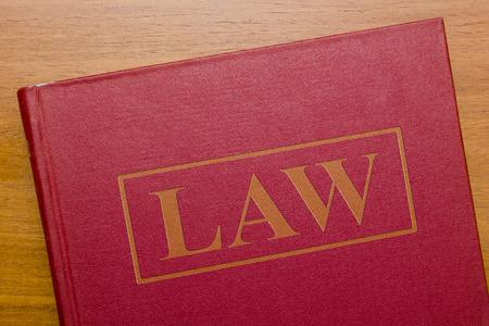 ley: Libro de ley de leyes para el sistema legal judicial.