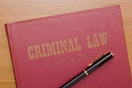 Criminal law - book to judicial legal system.