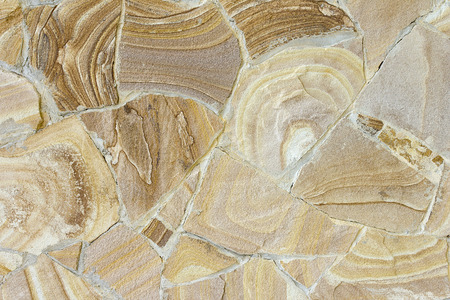 light brown: Stone walls are decorated with light brown.