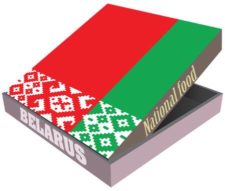 fiambres: Caja para la entrega de alimentos Bielorrusia.