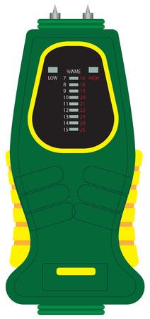 Moisture Meter for rapid determination of moisture content.