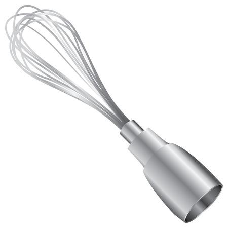 Whisk attachment for an electric blender. Illusztráció