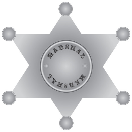 The star of the US Marshal.
