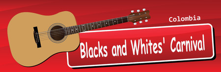 Blacks and Whites Carnival, celebrated until January 7, the beginning of the holiday on January 2. Colombia