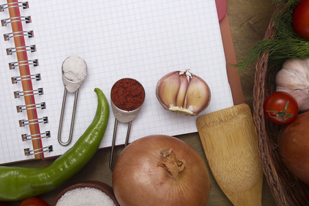 cuisines: Common spices and vegetables for the preparation of most cuisines of the world.
