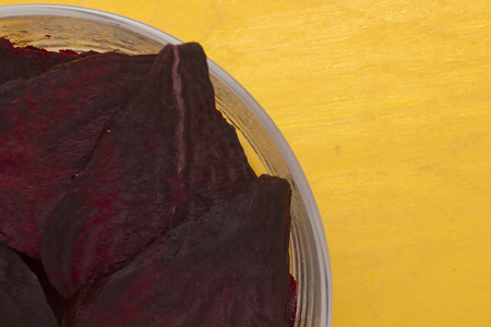 rote: Segment of the food beet for cooking various recipes. Stock Photo