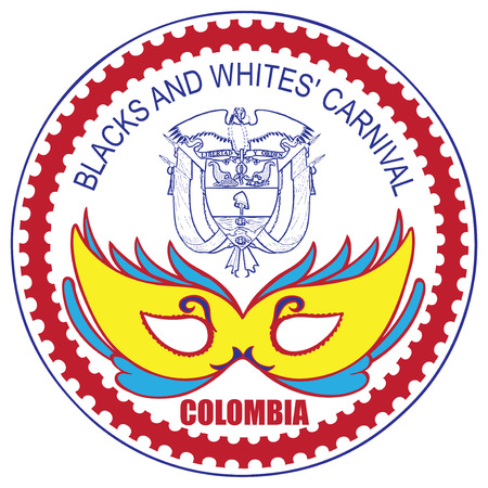 2 january, first day of Blacks and Whites Carnival, Colombia