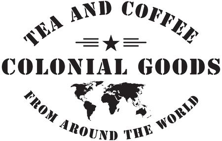 stigma: Colonial goods from around the world. Stamp stigma.