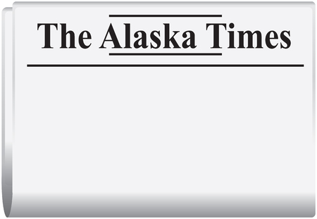 The Alaska Times, the newspaper of the northern US state.
