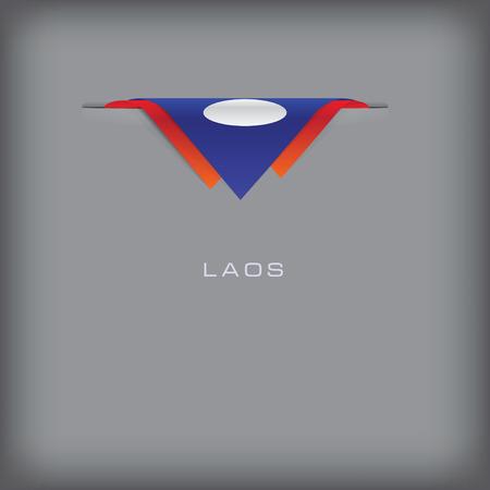 laos: Laos  flag.